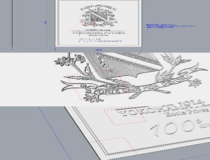 100周年記念レリーフ2