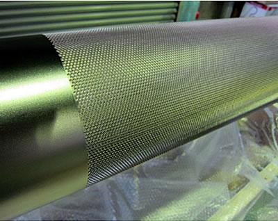 金属ロール(無電解テフロン分散メッキ処理)