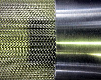 金属ロール(無電解テフロン分散メッキ処理)2