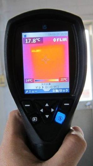 温度分布検証