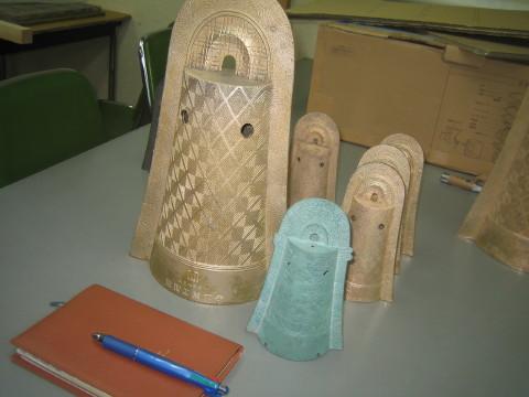 銅鐸鋳造品