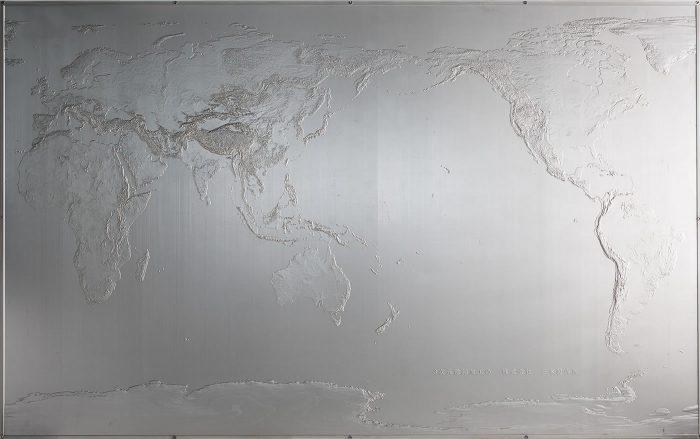 超精密立体地図