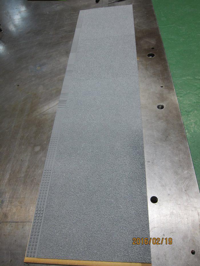 板(2-3mm)のテスト型