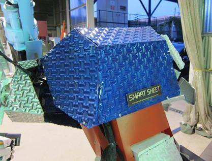 ロボット外装パネル2